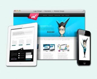 Branding & Webdesign Wendel IT Solutions