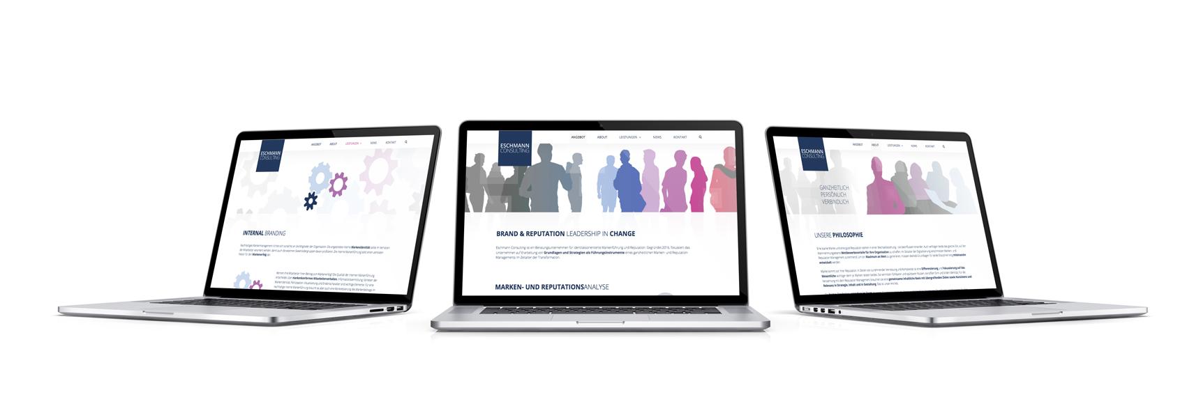 responsive Design, Webdesign, Webgestaltung