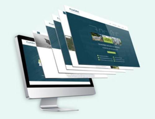 Webdesign Fluora Immopark